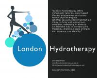 We write to introduce you to our new hydrotherapy service in Central London. <br />  <br />  We are a practice of experienced Chartered Physiotherapists offering a unique hydrotherapy...